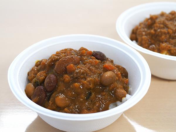 「ハルメク ほっこり豆と野菜の元気カレー」