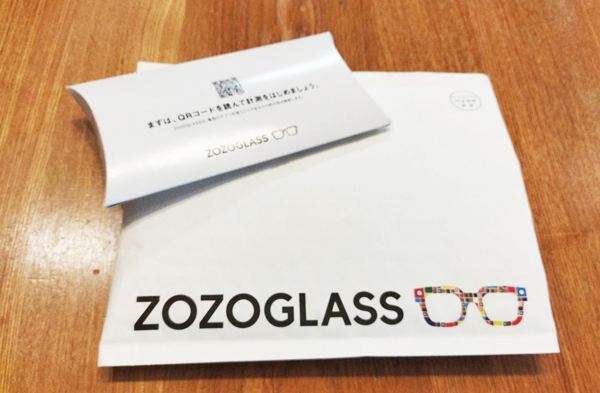 ZOZOGLASSが到着