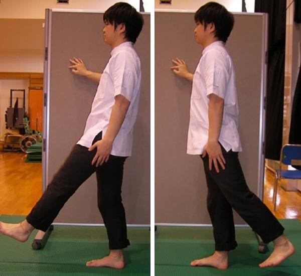 室内で足の筋力を鍛える運動