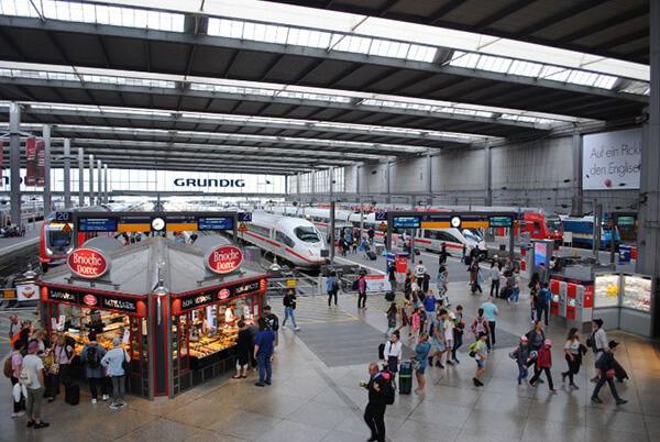 イタリア・フィレンツェから夜行列車「ナイトジェット」でドイツ・ミュンヘンへ
