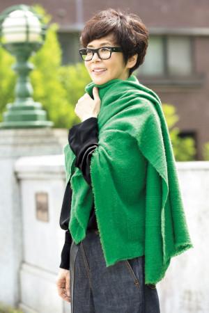 60代ファッションのお手本:徳田郁子さん