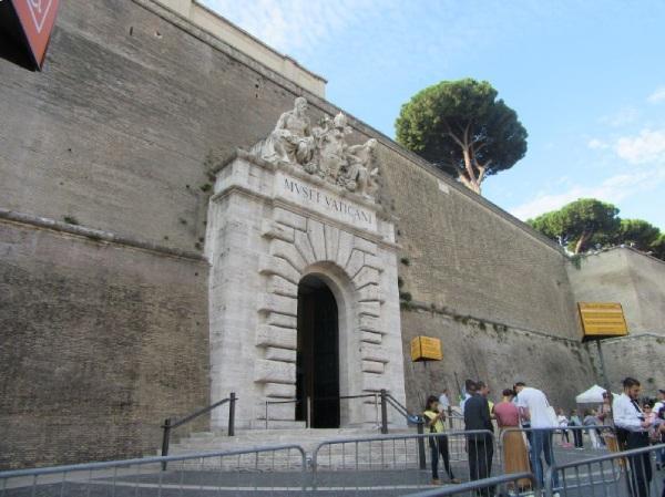 システィーナ礼拝堂のある、バチカン美術館