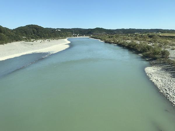 美しい天竜川