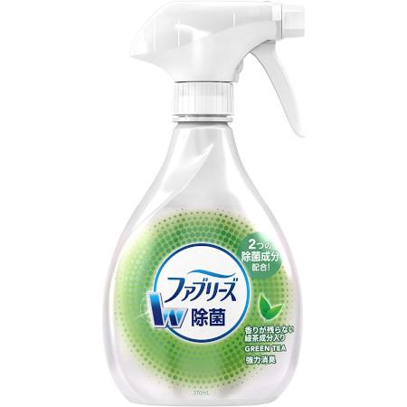 消臭カテキングッズ:ファブリーズW除菌 緑茶成分入り(P&G)