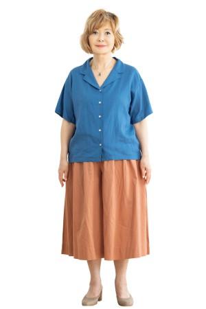 体型カバーの服選びNG例:上下共にゆったり服は逆効果!