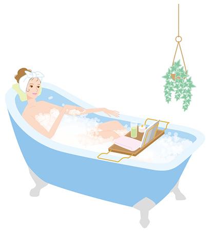 目的別にあった入浴法