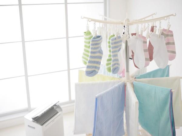 洗濯物を早く乾かす時短ワザって?