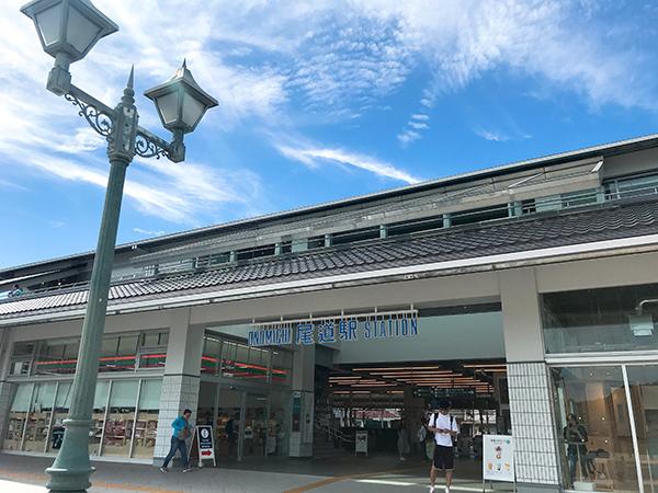 今年3月にお披露目された尾道駅新駅舎。アトリエ・ワン監修