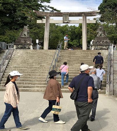 山梨県甲府市の武田神社