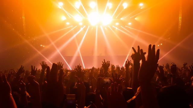 ライブの風景イメージ