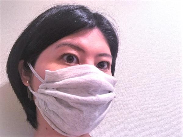 縫わない!簡単!Tシャツマスクの作り方って?