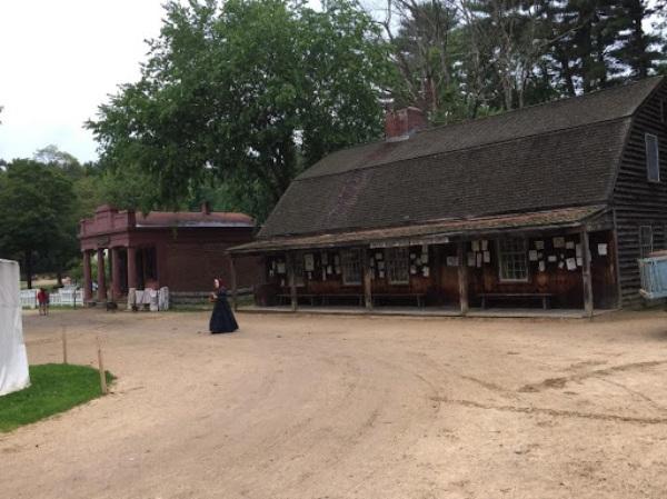 1830年代の暮らしを再現しているオールド・スターブリッジ・ビレッジ
