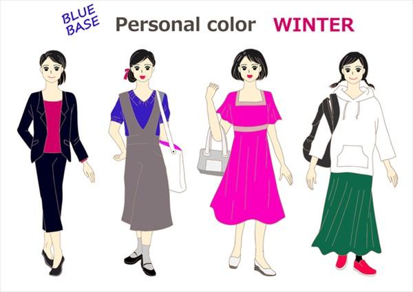ウィンターカラーの人が秋に着る服はこんな色