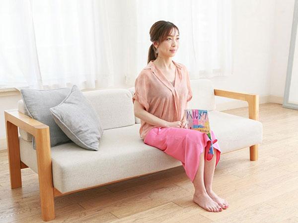 テレビを見ながら雑誌を膝で挟んでキープなどの「ながら運動」もオススメ!