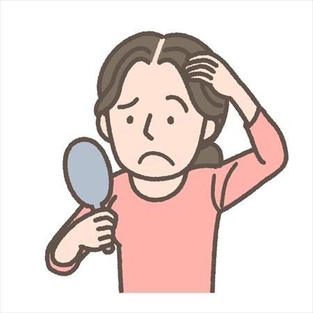 女性の薄毛の主な原因は?