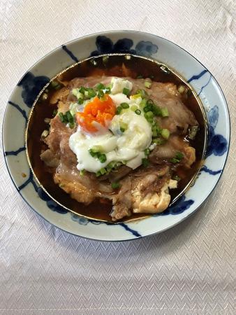電子レンジで作る無水肉豆腐