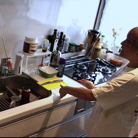 山田邸のキッチンスペースの特徴