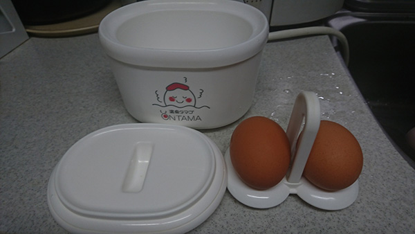 温泉卵作り器