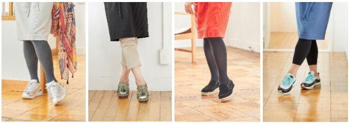 悩める足元は、タイツやレギンスで脚をカバーしつつ素敵に!