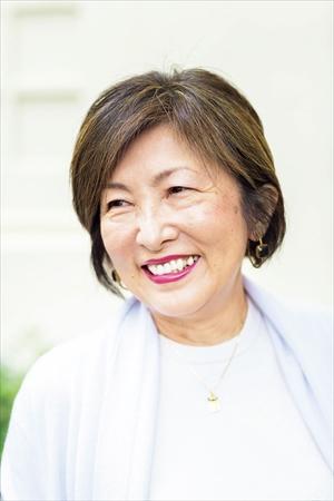 小川千鶴子さん(65歳)の髪型