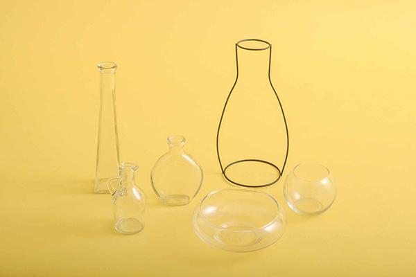 キャンドゥの花瓶は、ユニークなラインナップ