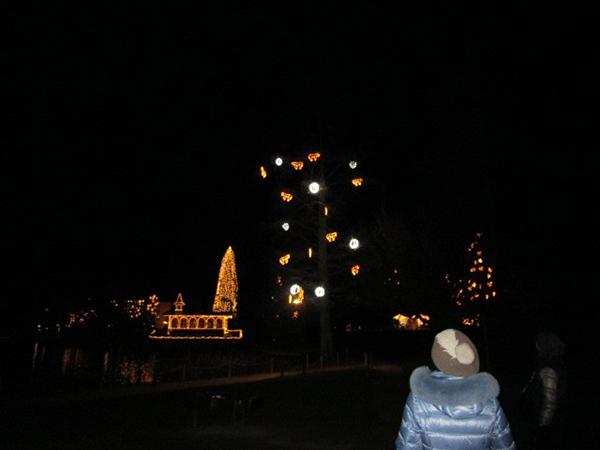 プレッド湖畔のクリスマスマーケット