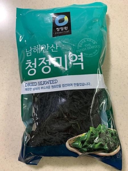 韓国で誕生日と言えばわかめスープ