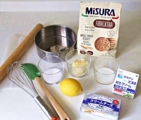 ゼラチンを使わないで作る濃厚レアチーズケーキのレシピ