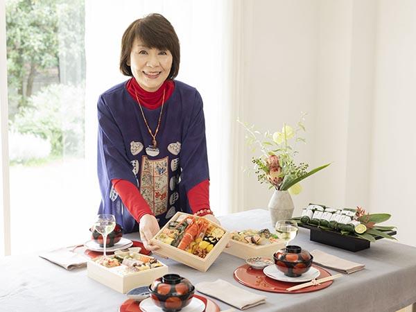 """里中満智子さんのお正月の楽しみは""""食""""!"""
