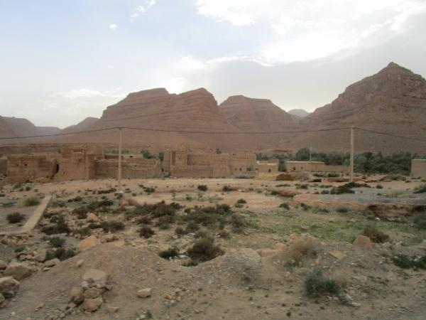 砂漠の中のカスバ・集落
