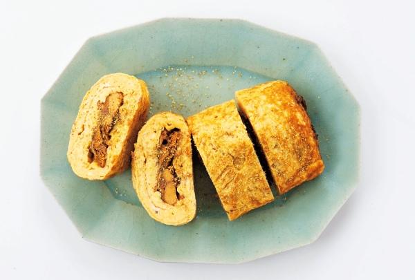 サンマの缶詰で簡単!う巻き風・卵焼き