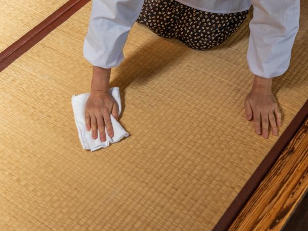 畳の日焼けをきれいにする方法