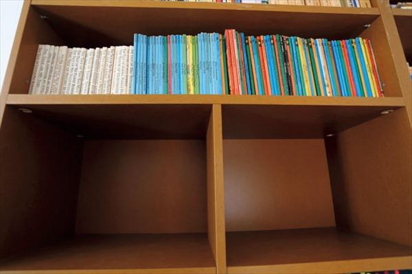不用な本を寄付したら、本棚もスッキリ!