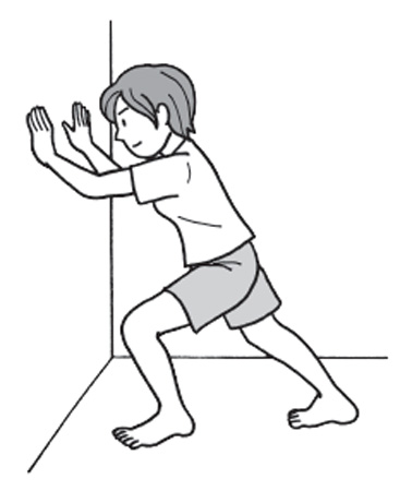 ふくらはぎ体操・手順2