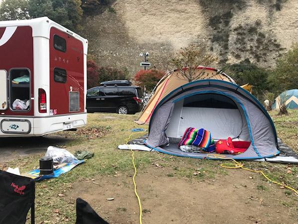 湯島オートキャンプ場