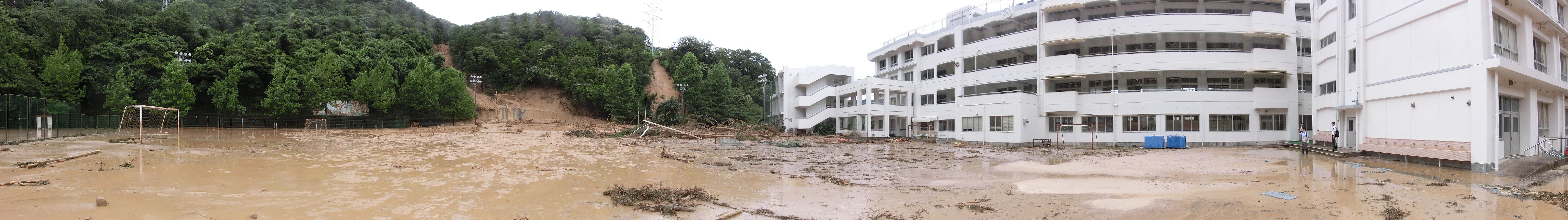 西日本豪雨の被害