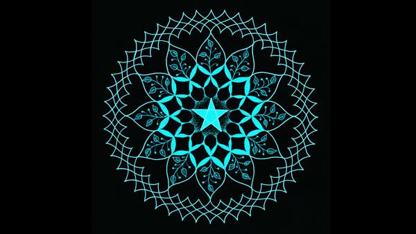 五芒星の曼荼羅