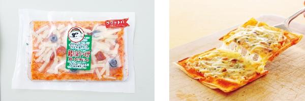 薄焼きミルフィーユピザ