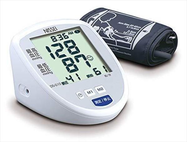 おすすめの血圧計:日本精密測器・上腕式(カフ式)血圧計