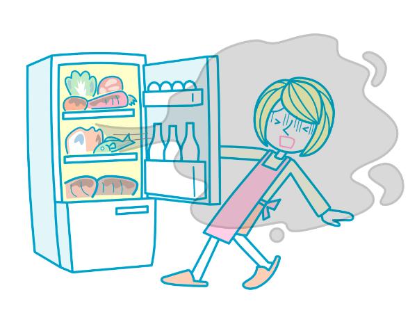 冷蔵庫の臭いをスッキリ取る方法は?