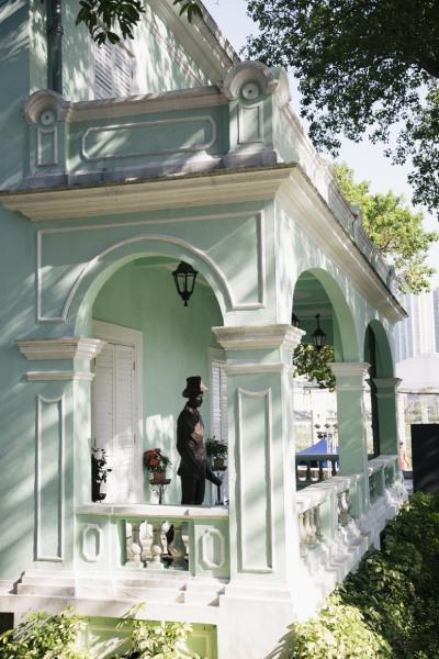 「タイパ・ハウス」は、ポルトガル様式の美しい建物