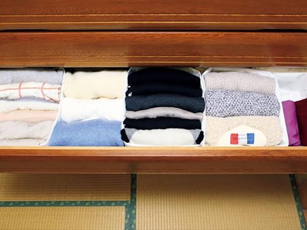 After:すっきり整理されて、服が探しやすい!