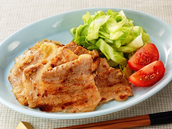 【下味冷凍アレンジレシピ】豚バラのねぎ塩焼きレモン風味