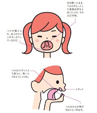 顎ラインがスッキリし、小顔効果が見込めます