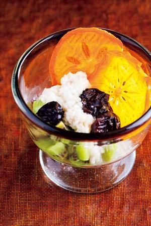 和風おやつレシピ:果物の甘糀がけ
