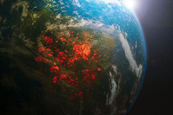 温暖化を1.5℃に抑えて森林火災のリスクを減らす