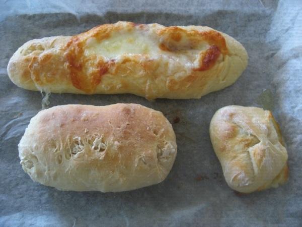 初めて焼いたフランスパン