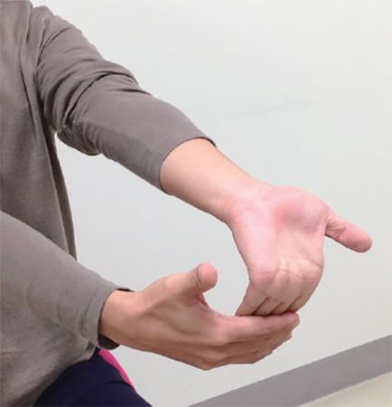 手指第二関節のリフレッシュ:指ストレッチ