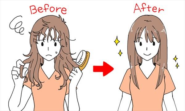 髪の静電気の原因は髪の乾燥とブラッシングにあり!