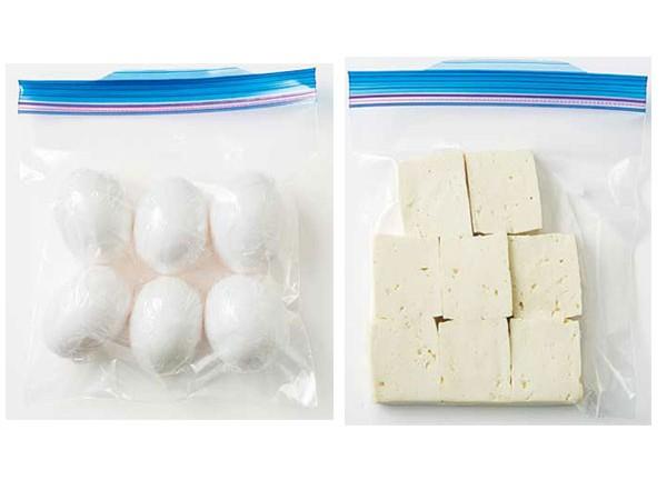 冷凍できる意外な食材!
